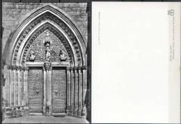 Ak Deutschland - Marburg  - Elisabethkirche,church,Eglise - Westportal - Eglises Et Cathédrales