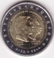 Pièce 2 Euros Commémorative Luxembourg - Grands Ducs Henri Et Adolphe - 2005 - Luxembourg