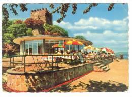 G480 Bad Breisig - Bergrestaurant Café Burg Rheineck / Viaggiata - Bad Breisig