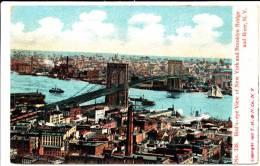 NEW YORK CITY - New York, Brooklyn Bridge And River - Non Classificati