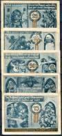 BURGEL (Thuringen) 1921 - 5 Notgeld - [11] Emisiones Locales