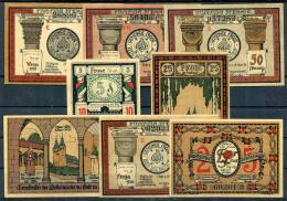 FROSE 1921 - 8 Notgeld (7 Types) - [11] Emisiones Locales