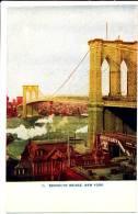 NEW YORK CITY - Brooklyn Bridge - Non Classificati