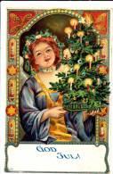 God Jul Merry Christmas - Udb (pre 1908) - Non Classificati