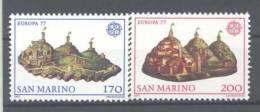 .1977 Europa C.E.P.T. , San Marino , Serie Completa Nuova (**) - Europa-CEPT
