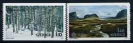 1977 Europa C.E.P.T. , Svezia , Serie Completa Nuova (**) - Europa-CEPT