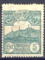 San Marino 1903  Sass.35 */MH VF/F - Unused Stamps