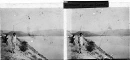 Plaque Photo - PP - 0020 - ESPAGNE - LAC DE TREMP - Plaques De Verre