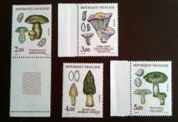 Timbre Neuf France Année 1987 YT 2488 A 2491 - Champignon - Pilze