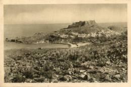 CPA - Rhodes - Lindos - Veduta D´in Sieme Del La Cita E Del Castello ( Acropolis ) - Greece