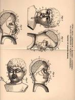 Original Patentschrift - G. Liebermann In Malmerz Und Neuhaus B. Sonneberg , 1902 , Puppenkopf , Puppe , Puppen , Kruse - Puppen