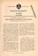 Original Patentschrift - Dr. Paul Koch In Neuffen , Württ., 1902 , Schienen Für Bein- Und Armbruch , Apotheke  !!! - Historische Dokumente