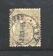 SOUTH AFRICA TRANSVAAL 1885 Used Stamp Vurtheim 1.2d Grey Nr. 12 - South Africa (...-1961)
