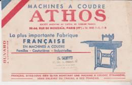 Buvard Machines à Coudre Athos Arpajon - Buvards, Protège-cahiers Illustrés