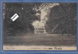 Carte Postale 59. Wormhoudt  Chateau Hecquet Ou Maës Trés Beau Plan - Wormhout