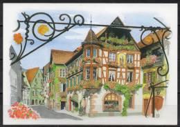 Alsace - Kaisesberg - Carte Postale D'après Une Aquarelle - Kaysersberg