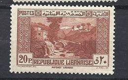 GRAND LIBAN  N� 172  NEUF ** LUXE