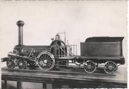 LOCOMOTIVE AMERICAINE A BOGIE AVEC TENDER Construite Par NORRIS à Philadelphie En 1841 - Eisenbahnen