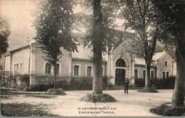 82...TARN ET GARONNE..ST ANTONIN.....ETABLISSEMENT THERMAL...... .ECRITE.... . . ‹(•¿• )› - Saint Antonin Noble Val