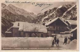 Verbania - Bognanco - S.Lorenzo (m.1000) Panorama Invernale Del Passo Del Prea - Verbania