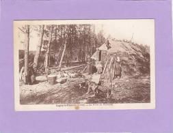 CPA - 45 - LIGNY Le RIBAULT - La Hutte Du Bucheron - France