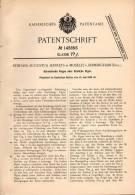 Original Patentschrift - E. Jeffreys In Moseley B. Bimingham , 1902 , Schreitende Puppe , Spielzeug !!! - Dolls