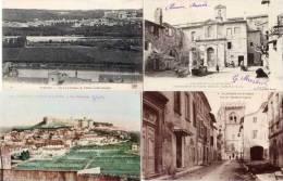 VILLENEUVE LES AVIGNON - 4 CPA - Fort St Andre -rue De L' Hopital, Hotel Du Cardinal De Turin,  (49197) - Villeneuve-lès-Avignon
