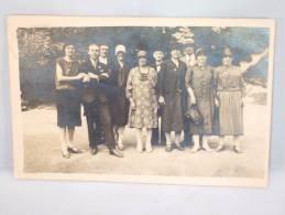 Photo. Foto. Photo De Famille. Familiefoto. Spa 1929 - Personnes Anonymes