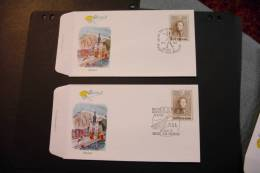 Belgium Belgica 72 Dinant Two Cancels Including Concorde With Stamp On Stamp And Special Cancel 1972 A04s - Belgium