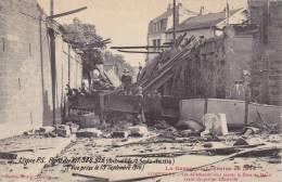 LUNEVILLE -54 - Les Allemands Font Sauter Le Pont De Menil Avant De Quitter Luneville. - Luneville