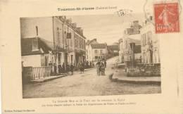 TOURNON SAINT PIERRE - La Grande Rue Et Le Pont - France