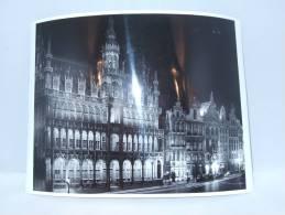 Photo. Foto. Grand´Place De Bruxelles., Hôtel De Ville. Grote Markt Van Brussel. Stadhuis.240 X 175 Mm - Luoghi