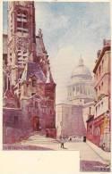 PARIS -  Saint-Étienne De Monts Et Le Panthéon Par L´illustrateur VIGNAL (belle Carte à Petit Prix Fixe) - Arrondissement: 05