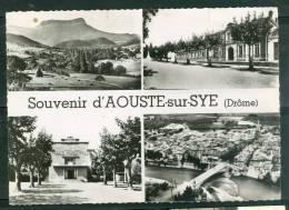 CPSM- Gf -   Souvenir D'Aouste Sur Sye , Multivues      LAC31 - France