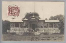 Lettland LIEPIA Libau Strand-Pavillon 1927-12-22 Foto Nach Belgien - Lettonie