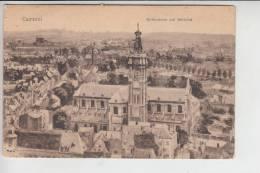 F 59400 CAMBRAI, Kathedrale Mit Belfried 1917, Feldpost 1.Weltkrieg - Cambrai