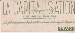 Buvard La Capitalisation - Buvards, Protège-cahiers Illustrés