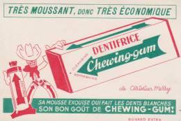 Buvard Dentifrice Chewing Gum - Buvards, Protège-cahiers Illustrés