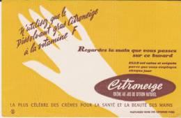 Buvard Crème Citroneige - Parfums & Beauté