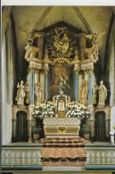 5789 HALLENBERG; Pfarrkirche St.Heribert, Innenansicht Hochaltar - Meschede