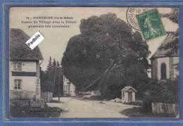 Carte Postale 90. Fontaine  Le Tilleul  Arbre Plusieurs Fois Centenaire Au Centre Du Village Trés Beau Plan - Fontaine
