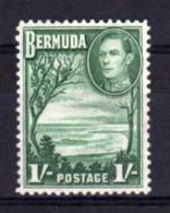 Bermuda - 1952 - One Shilling Definitive - MH - Bermudes