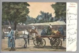 Ägypten Cairo 1907-02-19 Eselfuhrwerk Foto L&H #69 - Egypte