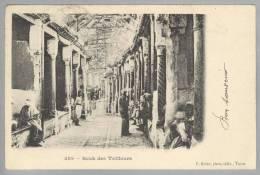 Tunesien THUNIS Souk Des Tailleurs 1905-06-29 Foto F.Soler - Tunisie