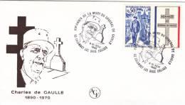 De Gaulle - BT Colombey 1985 - Croix Tombe Général - De Gaulle (Generaal)