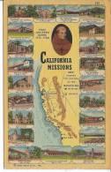 CALIFORNIA MISSIONS - Etats-Unis