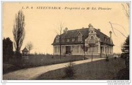 CPA  -  STEENWERCK  (59)  Propriété De Mr  Ed.  Plouvier - Non Classés