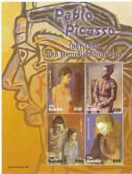 GAMBIA  BF INTEGRO - PABLO PICASSO - Picasso