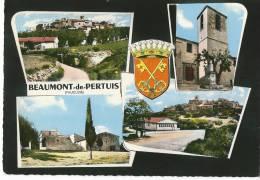 CPSM 84 BEAUMONT De PERTUIS   Jolie MULTIVUE - France