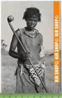 """""""Swazi Warrior"""",   Ansichtskarte  Ungebrauchte Karte - Swasiland"""